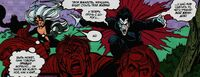 Black Cat and Morbius versus townspeople