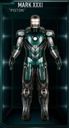 Armure d'Iron Man MK XXXI (Terre-199999)