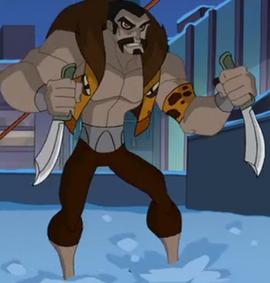 Sergei Kravinoff (Tierra-26496) de The Spectacular Spider-Man (serie animada) Temporada 2 2