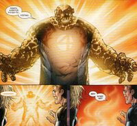 Ultimate Fantastic Four Vol 1 52 Ben Grimm is disappearing ftom the battlefield