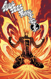 Robbie Reyes (Earth-616) from All-New Ghost Rider Vol 1 1 001