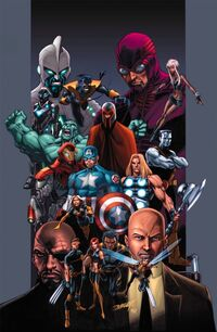 Official Handbook of the Marvel Universe Vol 4 20 Textless