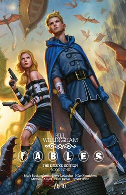 Cover for the Fables: The Deluxe Edition - Book Nine Trade Paperback