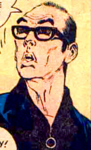 Jim Aparo Self Portrait