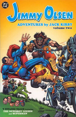 Cover for the Jimmy Olsen: Adventures by Jack Kirby Vol. 2 Trade Paperback