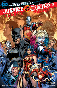 Justice League vs Suicide Squad Vol 1 1