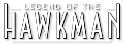 Legend of the Hawkman (2000) logo
