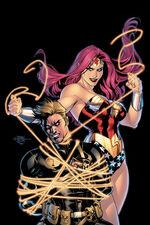 Circe as Wonder Woman