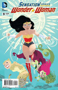 Sensation Comics Featuring Wonder Woman Vol 1 9