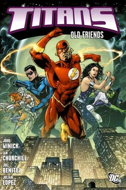 Cover for the Titans: Old Friends Trade Paperback