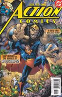 A Return to the Classic Logo accompanied new writer Chuck Austen with Action Comics #814