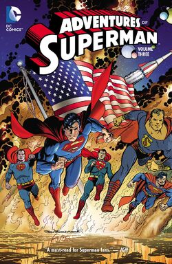 Cover for the Adventures of Superman Vol. 3 Trade Paperback
