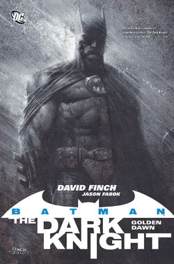 Cover for the Batman: The Dark Knight Vol 1 - Golden Dawn Trade Paperback