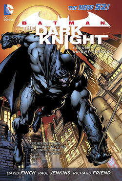 Cover for the Batman: The Dark Knight - Knight Terrors Trade Paperback