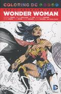 Coloring DC Wonder Woman