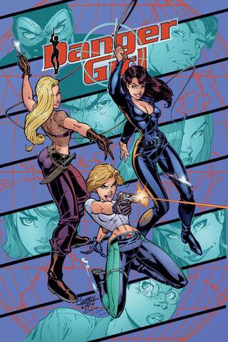 File:Danger Girl Vol 1 1 Textless.jpg
