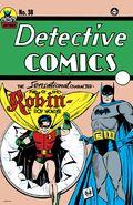 Facsimile Edition Detective Comics Vol 1 38