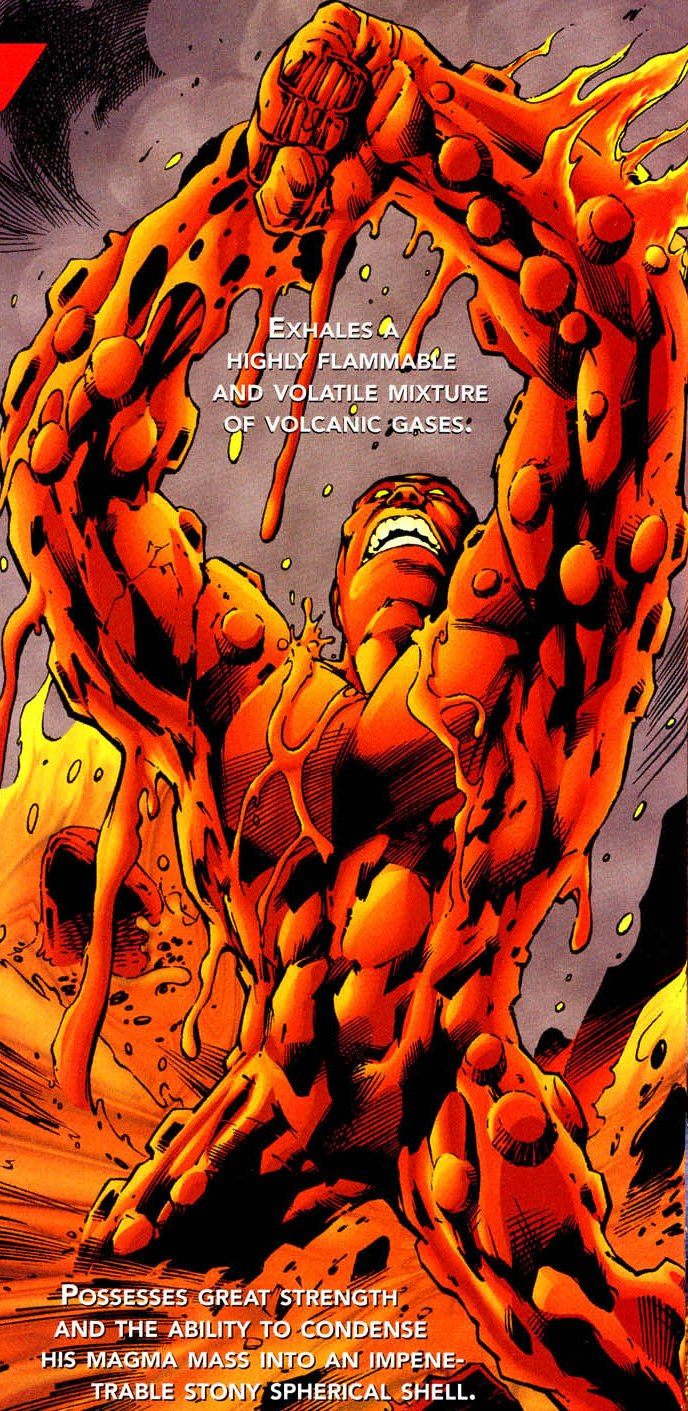 Lava Lord (New Earth) | DC Database | FANDOM powered by Wikia