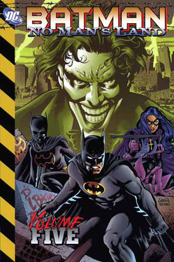 Cover for the Batman: No Man's Land Vol 5 Trade Paperback