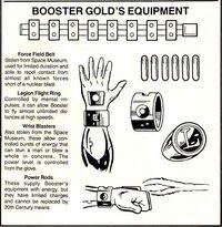 Booster Gold Equipment