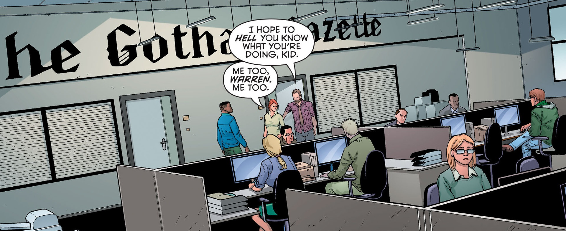 The Headlines of The Gotham Gazette During The Dark Knight
