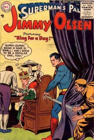 File:Jimmy Olsen Vol 1 4.jpg