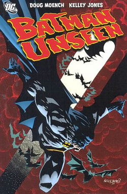 Cover for the Batman: Unseen Trade Paperback