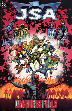 Cover for the JSA: Darkness Falls Trade Paperback