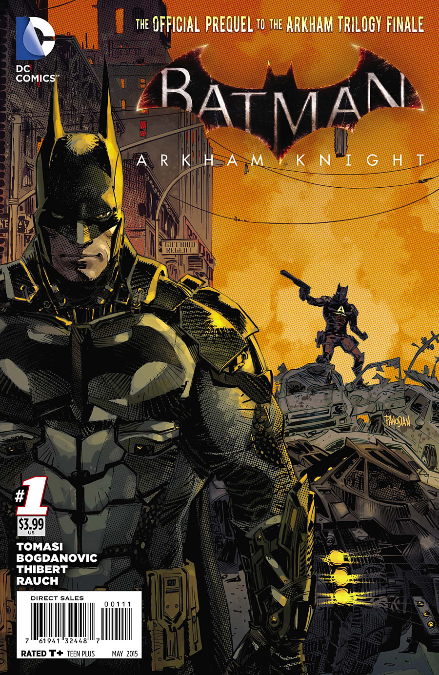 Batman Arkham Knight Comic Book