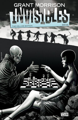 Cover for the Invisibles Deluxe Edition: Book Four Trade Paperback