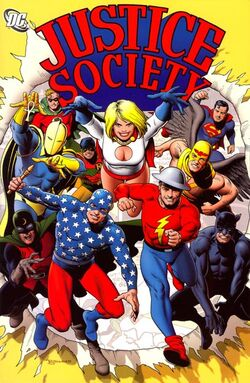Cover for the Justice Society Vol. 1 Trade Paperback
