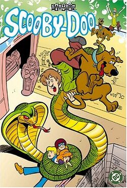 Cover for the Scooby-Doo: The Big Squeeze! Trade Paperback