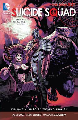Cover for the Suicide Squad: Discipline and Punish Trade Paperback