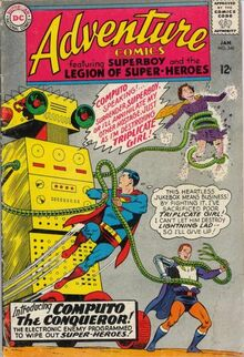 Superboy and the LSH vs. Computo