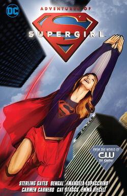 Cover for the Adventures of Supergirl Vol. 1 Trade Paperback