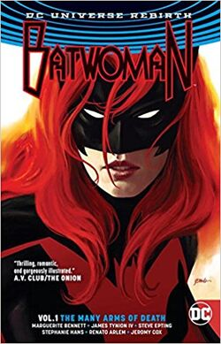 Cover for the Batwoman: The Many Arms of Death Trade Paperback