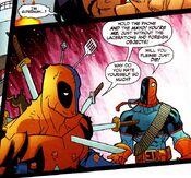 Deathstroke meets Deadpool