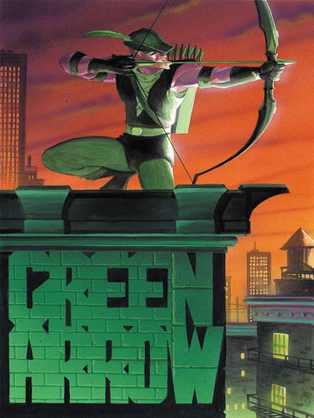 Green Arrow Quiver Dc Database Fandom Powered By Wikia