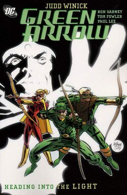 Cover for the Green Arrow: Heading Into the Light Trade Paperback