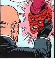 Mxyzptlk's face appears in Krimson K