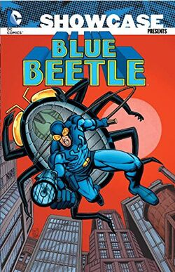 Cover for the Showcase Presents: Blue Beetle Trade Paperback