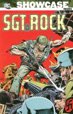 Cover for the Showcase Presents: Sgt. Rock Vol. 3 Trade Paperback