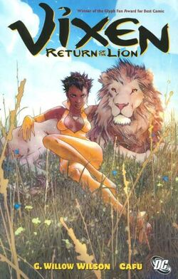 Cover for the Vixen: Return of the Lion Trade Paperback