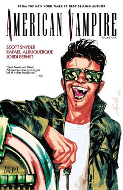 Cover for the American Vampire: Vol. 4 Trade Paperback