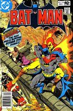 Batman fights Firebug