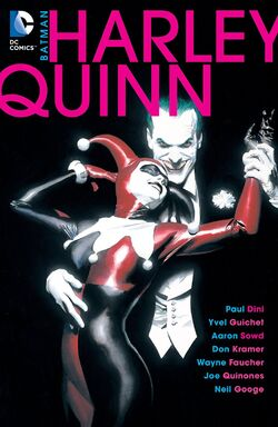 Cover for the Batman: Harley Quinn Trade Paperback