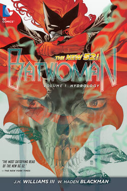 Cover for the Batwoman: Hydrology Trade Paperback