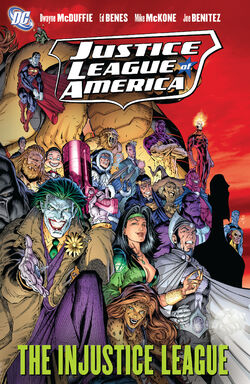 Cover for the Justice League of America: The Injustice League Trade Paperback