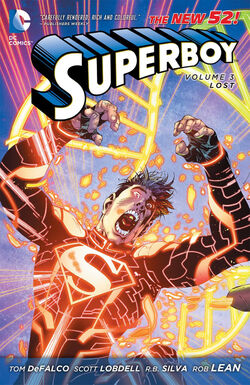 Cover for the Superboy: Lost Trade Paperback