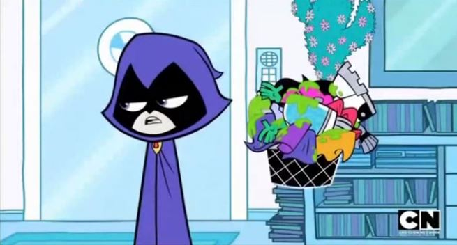 Teen Titans Go Tv Series Episode Laundry Day  Dc -3773